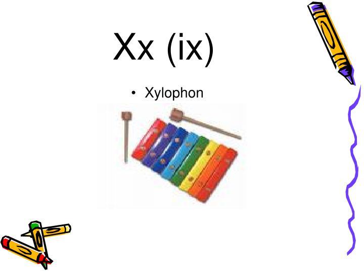 Xx (ix)