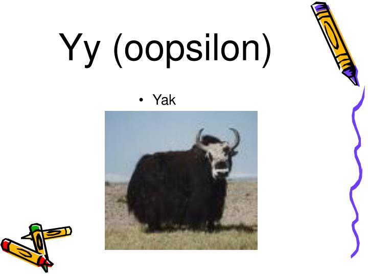 Yy (oopsilon)