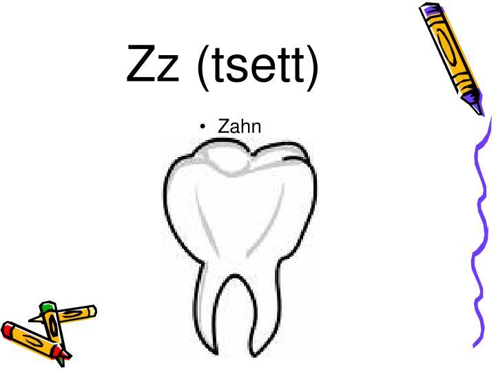 Zz (tsett)