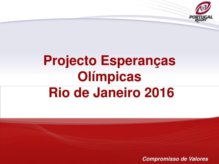 Projecto Esperanças Olímpicas