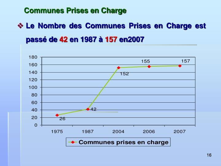 Communes Prises en Charge