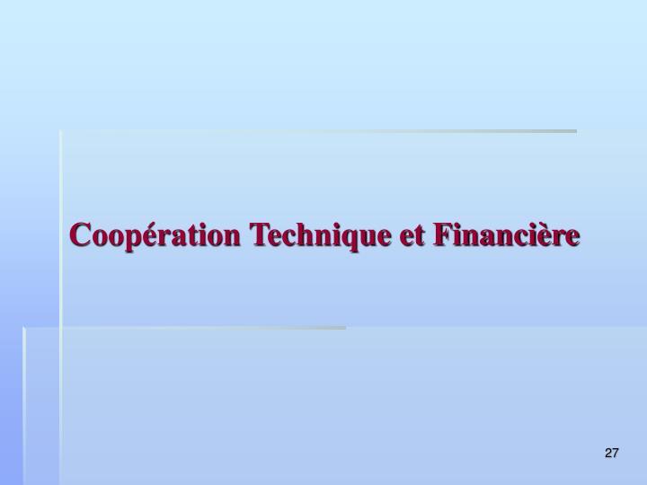 Coopération Technique et Financière