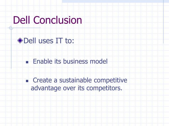 Dell Conclusion