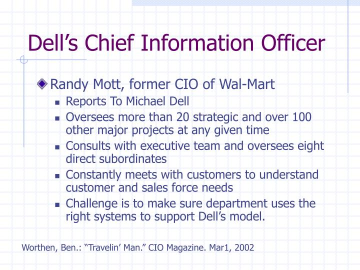 Dell's Chief Information Officer