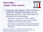third pillar supply chain analysis