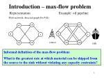 introduction max flow problem
