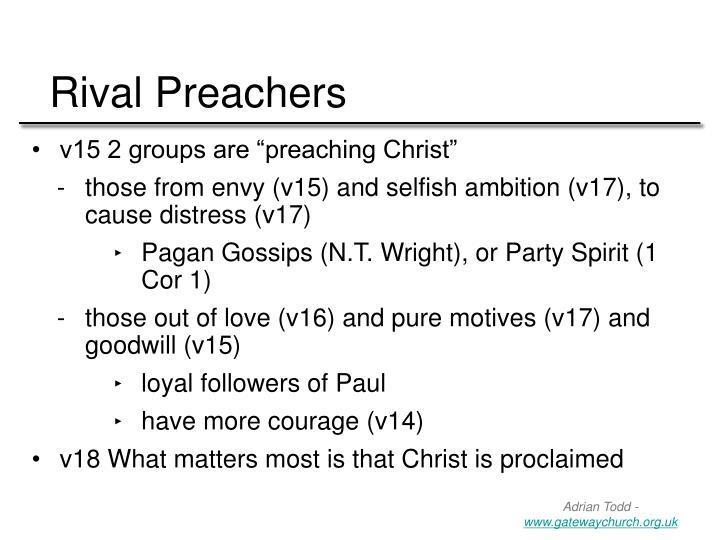 Rival Preachers