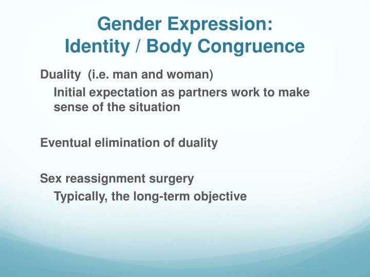 Gender Expression:
