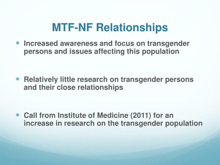MTF-NF Relationships