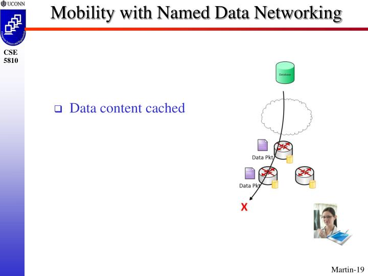 Mobility with Named Data Networking