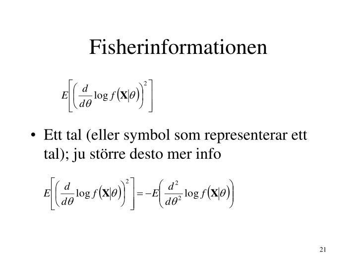 Fisherinformationen