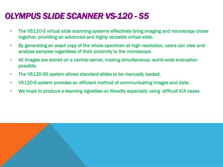 Olympus slide scanner vs 120 s51