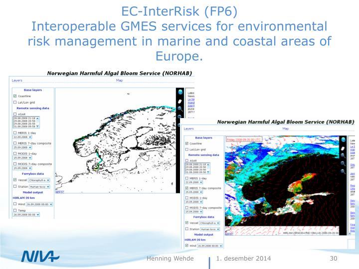 EC-InterRisk (FP6)