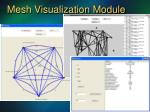 mesh visualization module