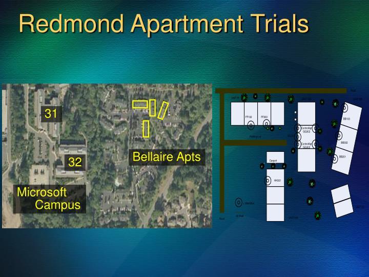 Redmond Apartment Trials