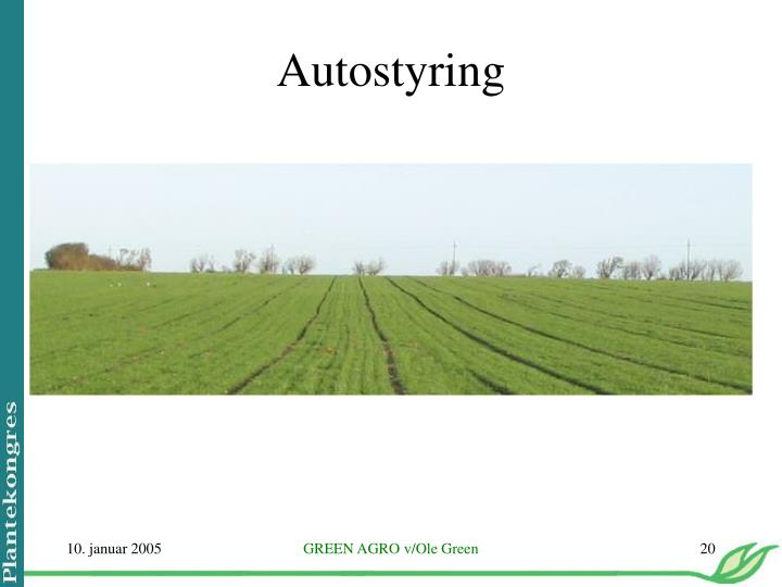 Autostyring