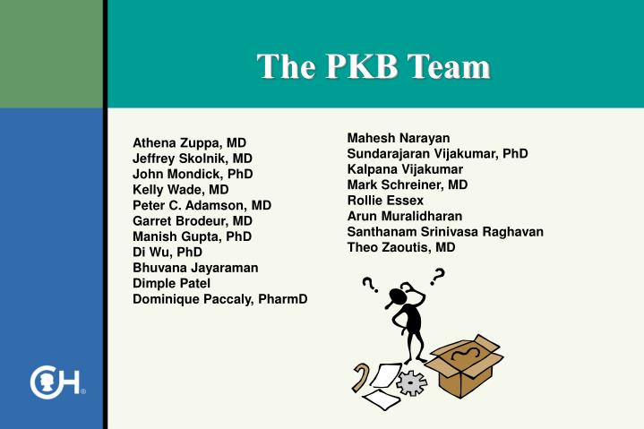 The PKB Team