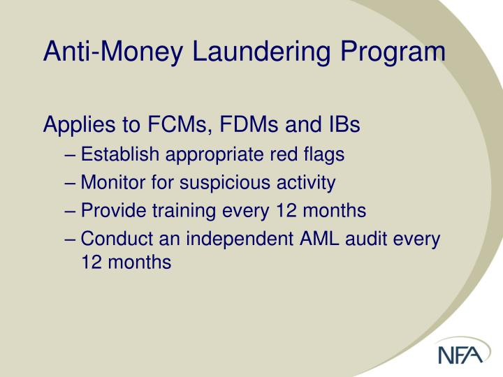 Anti-Money Laundering Program