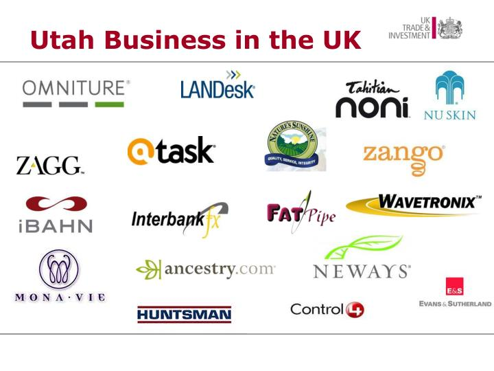Utah Business in the UK