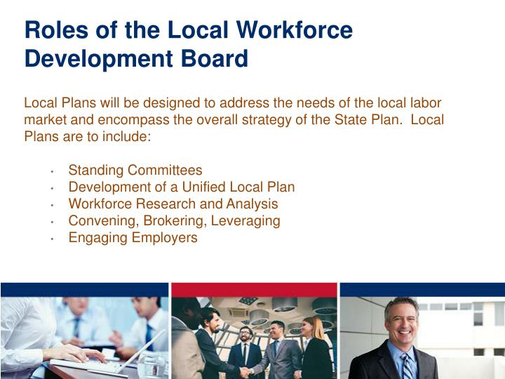 Roles of the Local Workforce Development Board