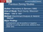 previous zoning studies1