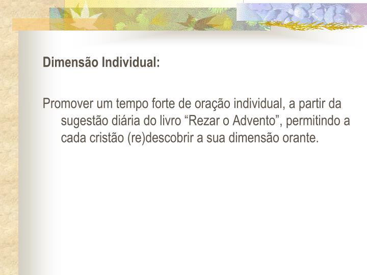 Dimenso Individual: