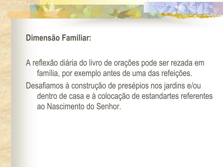 Dimenso Familiar: