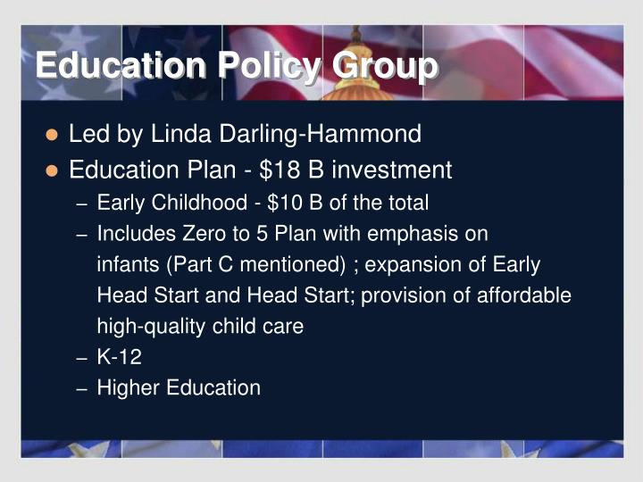 Education Policy Group