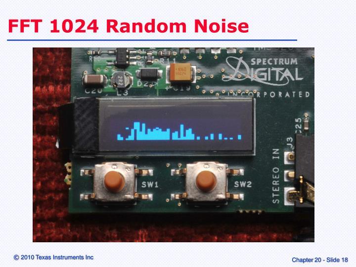 FFT 1024 Random Noise