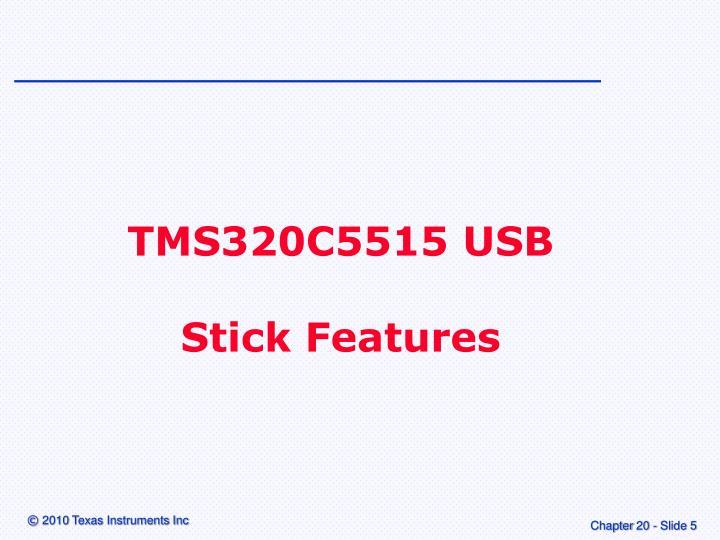 TMS320C5515 USB