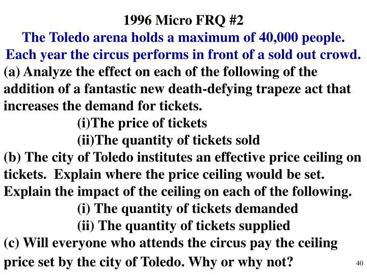 1996 Micro FRQ #2