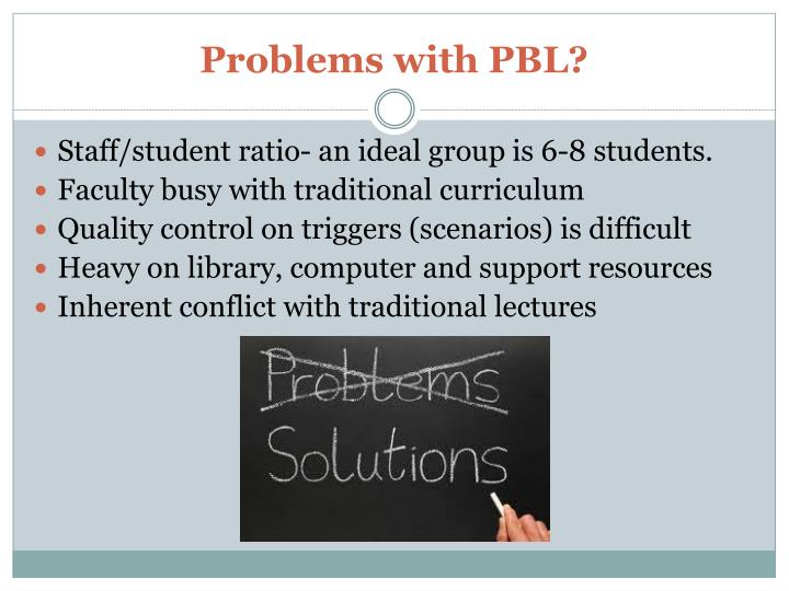 Problems with PBL?