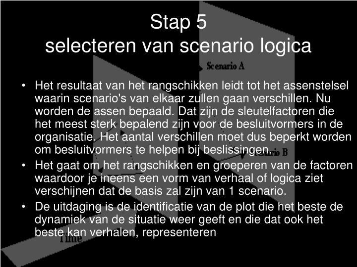 Stap 5
