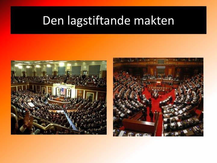 Den lagstiftande makten