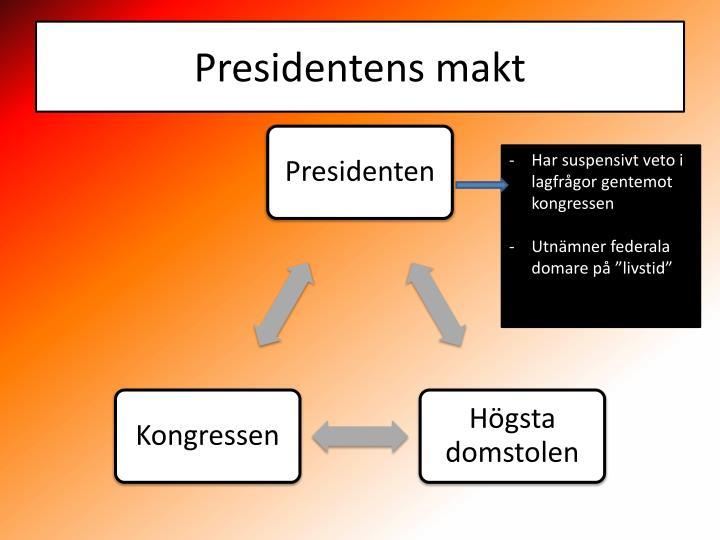 Presidentens makt
