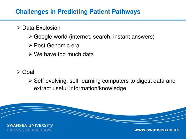 Challenges in Predicting Patient Pathways
