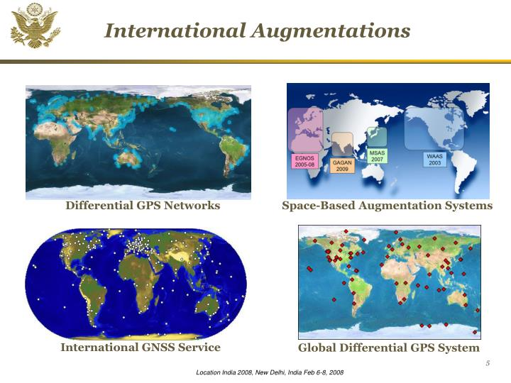 Differential GPS Networks