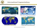 international augmentations