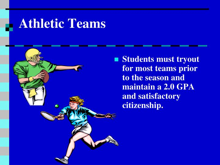 Athletic Teams
