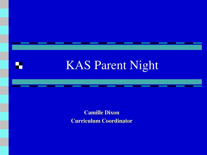 Kas parent night