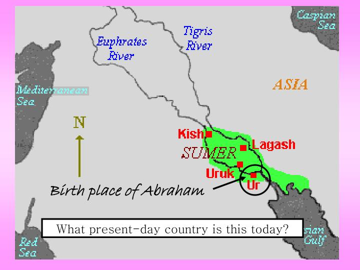 Birth place of Abraham