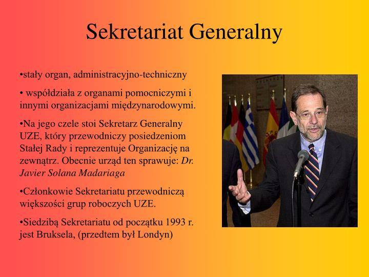 Sekretariat Generalny