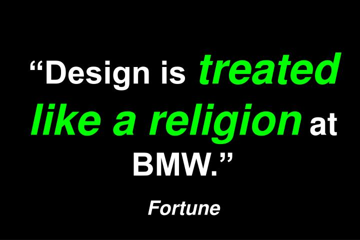 """""""Design is"""