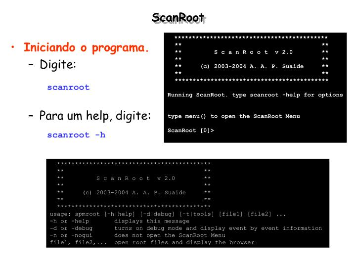 ScanRoot