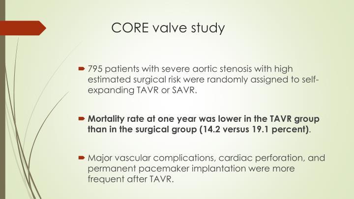 CoreValve™ Evolut R™ FORWARD Study - Full Text View ...
