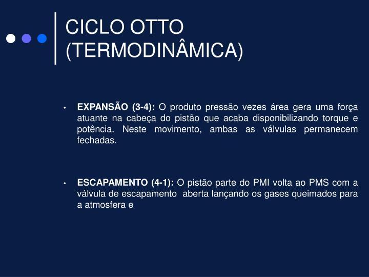 CICLO OTTO (TERMODINÂMICA)