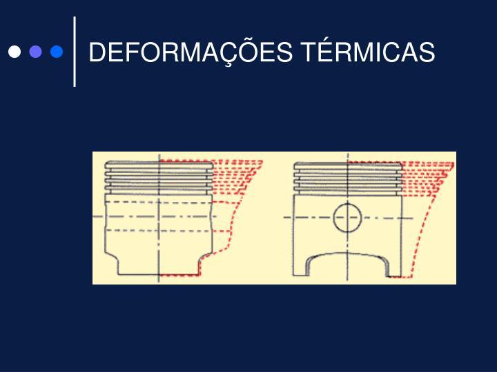 DEFORMAÇÕES TÉRMICAS