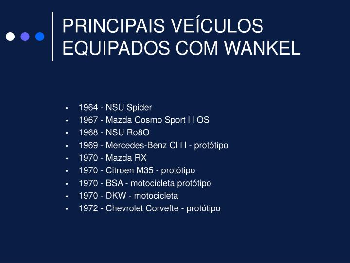 1964 - NSU Spider