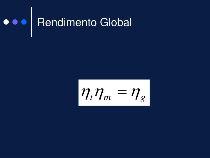 Rendimento Global