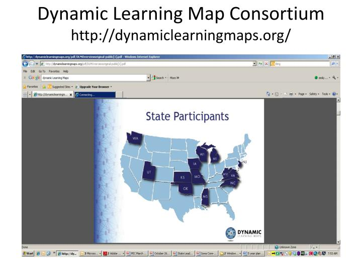 Dynamic Learning Map Consortium